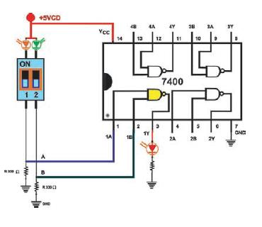 gate chip, logic chip, 7404 two input nand gate schematic, ic png, gambar ic, ttl gate, component electrical, or gate ic, 74040 two input nand gate, what is, on datasheet del 7408