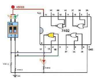 Observe que la distribución de terminales es diferente a los demás circuitos.